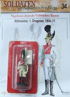 Soldaten der napolionischen Kriege 34  Rittmeister 1. Dragoner 1806/11