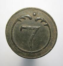 Big Button 7 polnische oder Westfälischen Regiment Napoleon Französische Armee G...