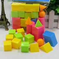 16pcs/set Educational toys mathematics geometry t  JC,a