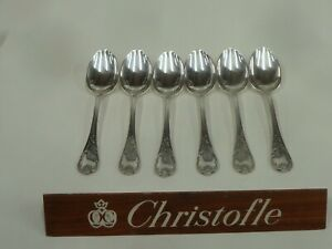 Christofle Marly France 6 Spoons Coffee T: 13.50cm - Very Beautiful Condition