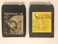 Lot Of 2 Vintage 8 Track Frank Sinatra My Cole Porter & Percy Faith Tape - Work