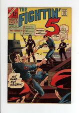 FIGHTIN' FIVE #40 - NICE - 1st Appearance of PEACEMAKER - SCI FI WAR 1966