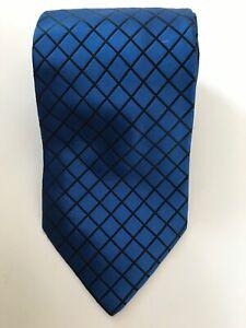 Krawatte ALTEA Milano blau schwarz   tie / cravat ALTEA Milano blue black