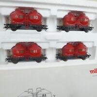 Märklin H0 48575 Güterwagen Muldenkippwagen WLE 5262 in OVP