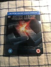 Justice League - HMV Ltd Ed 3D/2D Steelbook (Sealed Copy) Now sold out