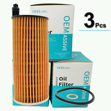 3x Oil Filters 11428507683 For Toyota AURIS BMW E90 F07 F10 F31 F35 F80 R57 X3