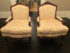 French Louis XV  Bergere Chairs - Pair REDUCED PRICE
