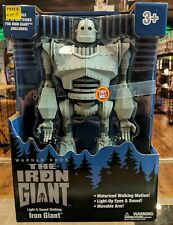 Light Sound Walking Iron Giant Motorized Motion Movable Arm Ages 3 Plus