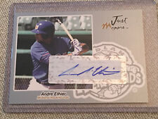 ⚾ Andre Ethier 2005 Just Minors Autographs Silver Auto #43/100 DODGERS A'S RC  ⚾