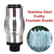 DN25 Stainless Steel Pond Fountain Sprinkler Water Nozzle Garden Irrigation Tool