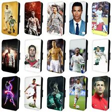 CRISTIANO RONALDO AMAZING FOOTBALL FLIP PHONE CASE COVER for iPHONE 4 5 6 7 8 x