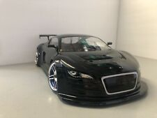 Fully Custom 1/10 Scale Remote Control On-road Drift Car Nissan GT-R Silver