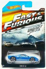 Fast & Furious Ford GT-40 Sports Car Hot Wheels Diecast 1:64 Scale