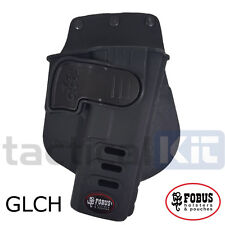 Genuine Fobus Glock 17/19 GLCH Retention Paddle Holster UK Seller Left Handed