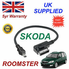 ORIGINAL SKODA RAPID MMI 000051446a MP3 Samsung Htc Mini USB Cable de recambio