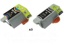8 PK Comp For Kodak 30 XL Ink Cartridge ESP 2170 C310 Printer (5 black 3 color)