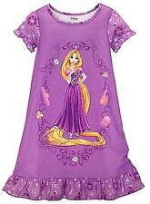 Disney Store Rapunzel Tangled Nightgown Pajamas Size 7/8