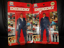 "LJN EMERGENCY""51""TV Gage/DeSoto figure moc UNPegd,seald.1973"
