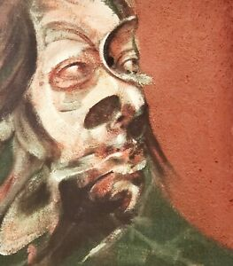 Francis Bacon affiche originale Isabel Rawsthorne Paris 2008 / ART/ Collection