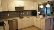 New listing Stunning White Shakers Custom Layouts available Rta Cabinets 14ft
