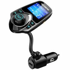 FM Transmitter, Bluetooth Wireless Radio Adapter Audio Receiver Stereo Music
