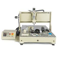 USB 4ejes CNC 600x900mm Máquina fresadora de grabado fresausa+ Controlador 2200W