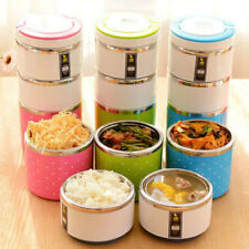 Stainless Steel Lunch Box Insulation Thermal Food Container School Travel Picnic