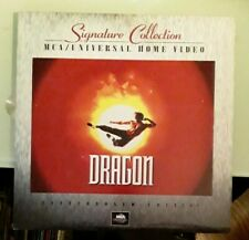 laserdisc LD  signature collection  DRAGON  letterboxed laserdisc LD