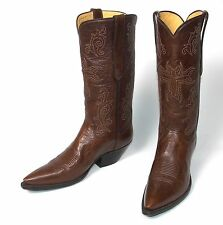 Sexy T. O. Stanley Custom Brown Cowboy Boots - Wms Size 9.5B New w/o Box