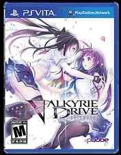 PS Vita Valkyrie Drive - Bhikkhuni *US version *US seller