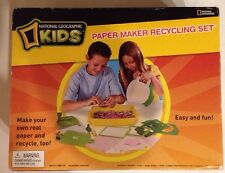 NEW National Geographic Paper Recycling Kit
