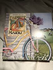1000 piece jigsaw puzzle Farmers Market  pre-owned 29 x 20  by Joy Hall
