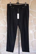 Pantalon noir neuf taille 42 marque Gérard Darel 99% laine étiqueté 160€ (v)