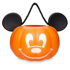 Disney Halloween 2019 Mickey Jack-O'Lantern Pumpkin Trick or Treat Candy Bucket