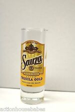 SHOT GLASS SHOOTER SAUZA TEQUILA GOLD LIQUOR