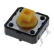 10 switch 12x12x7.3 mm normalmente aperto pulsante miniatura circuito stampato