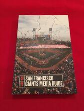 2017 MLB San Francisco Giants media guide / Bumgarner / Crawford / Panik / Posey