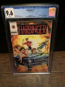 Harbinger 1 CGC 9.6 Valiant WP 1st App.Art With Coupon 3759094014 NEW SLAB🔥