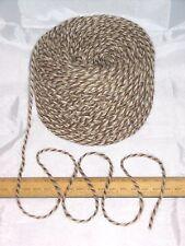 Palla da 100g Brown & crema screziato 100% pura lana razza Britannica lavoro a maglia DK energia dai rifiuti 509