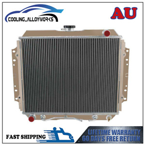 3 Row Radiator FOR HOLDEN RODEO TF G3 G6 2.2L 2.6L PETROL AT/MT 1987-97 ASI
