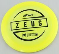 NEW Esp Zeus 173-174g Driver Discraft Discs Yellow Disc Golf Celestial
