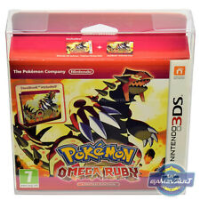 BOX PROTECTOR for 3DS Pokemon Alpha Sapphire & Omega Ruby 0.5mm PET Display Case