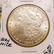 1883-CC MORGAN SILVER DOLLAR GEM BU/MS, NICE+, FROSTY WHITE, SHARP STRIKE B631