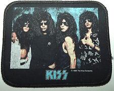 KISS Original Vintage 1989 Printed Sew On Patch