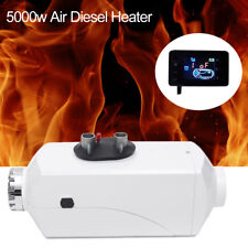 12v 5kw Air Diesel Fuel Heater Set for Trucks Boats Bus Car Housing LCD Monitor