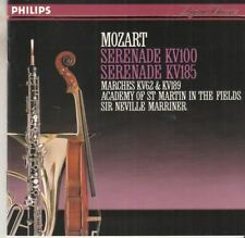 Serenades. Mozart : Sir Neville Marriner