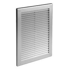 satin grille ventilateur 180MM X 250MM GRIS MURAL Couvercle de 19.1cm 25.4cm