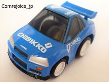 Chibikko Choro Q TAKARA NISSAN SKYLINE GT-R R34 No.1 Blue Mint F/S