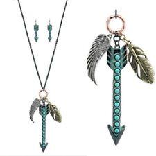 Arrow & Feather & Wing Neckace Set