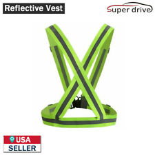High Visibility Adjustable Night Running Security Outdoor Reflective Safety Vest